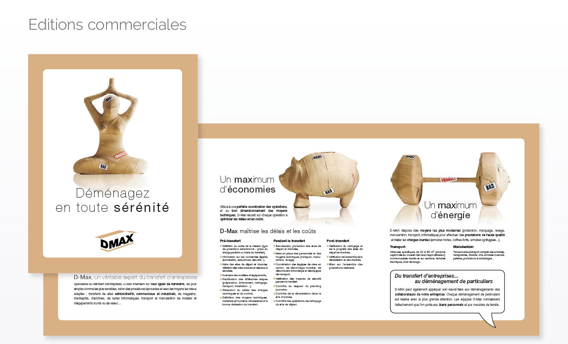 Editions commerciales