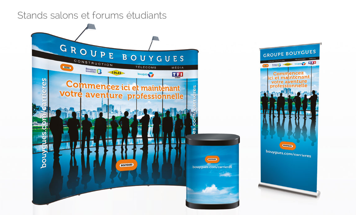 Stand salons et forums étudiants