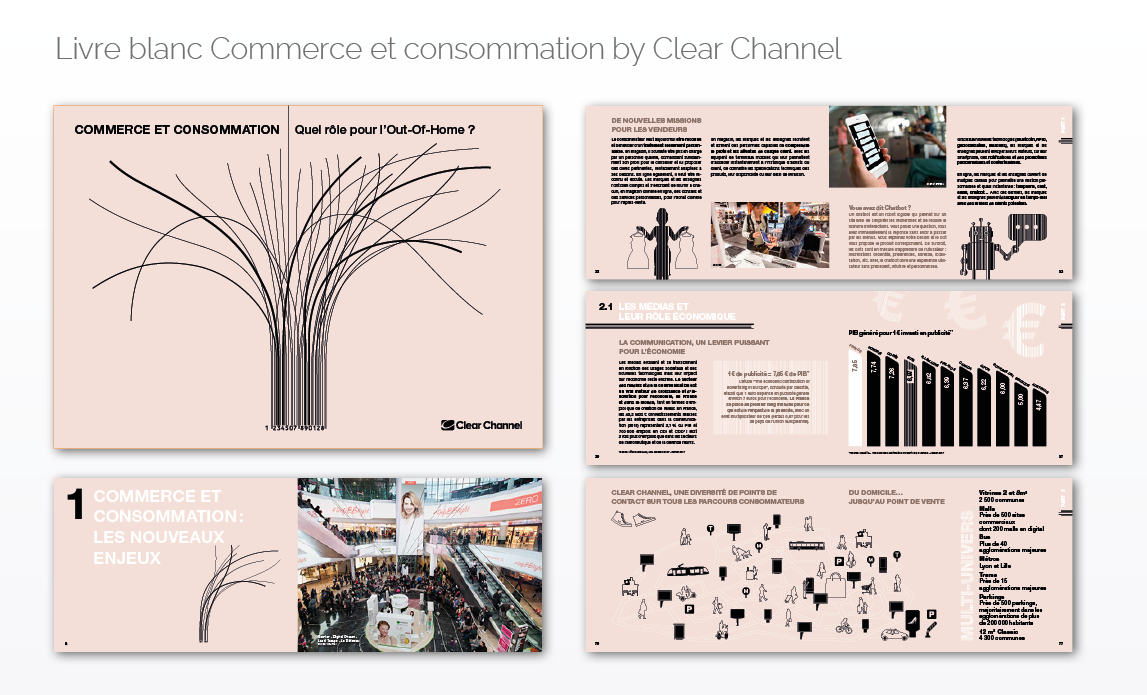 Livre blanc Commerce et consommation by Clear Channel